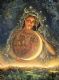 "Encouragement Card ""Moon Goddess"" Encouragement Greetings Card by Josephine Wall (ECG45673)"